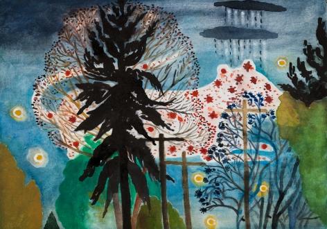 Fay Jones Two Trees 6