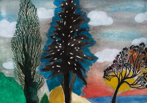 Fay Jones Two Trees 3