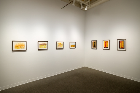Margot Voorhies Thompson | Desert Light | Russo Lee Gallery | Portland Oregon | March 2020 | Install View 05