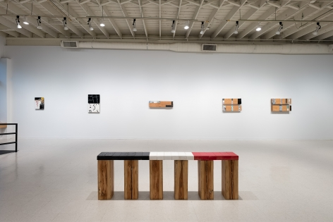 Geoffrey Pagen | Itself and Not Itself | February 2–27, 2021 | Installation View 01