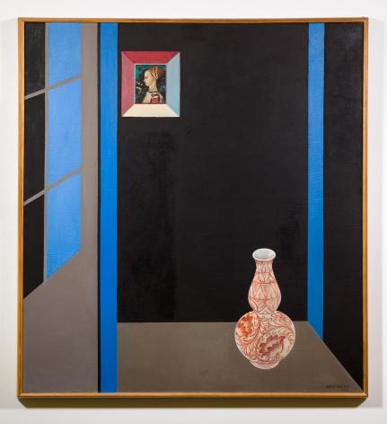 Sally Haley (1908-2007)  Interior with Italian Vase