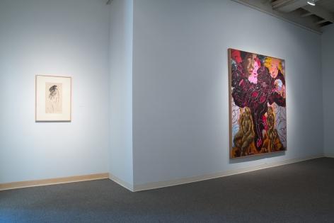 Robert Colescott - Installation View July 2016