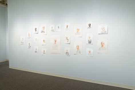 Anne Siems - Bite - August 2019 - Russo Lee Gallery - installation View 01