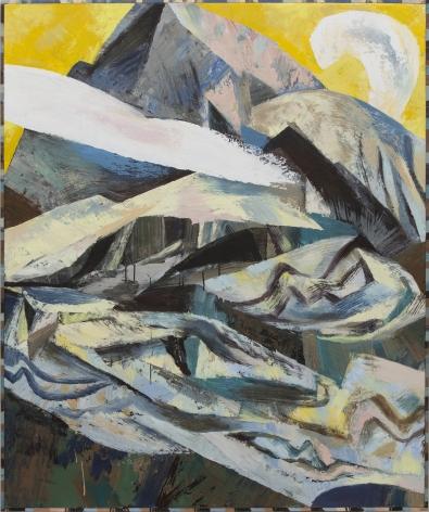 Parker - Small Clouds Over Glacier