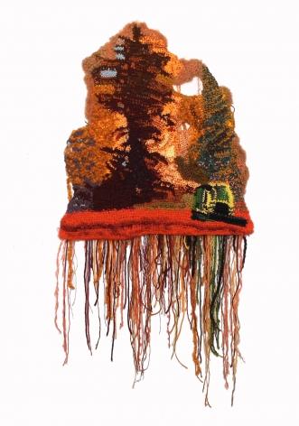 Jo Hamilton (b. 1972)  The 2020 Riverside Fire, 2020