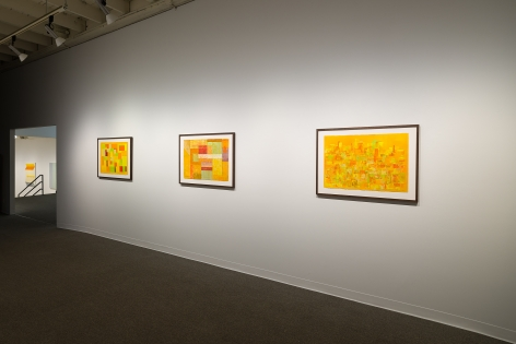 Margot Voorhies Thompson | Desert Light | Russo Lee Gallery | Portland Oregon | March 2020 | Install View 02