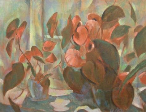 Still Life (Begonia)