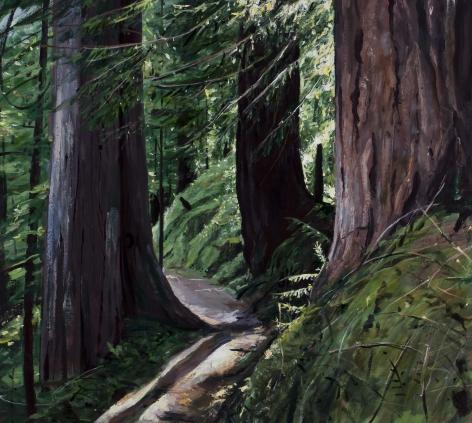 Michael Brophy (b. 1960)  The Trail I, 2021