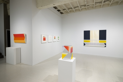 Betty Merken | Persuasive Geometry | March 2020 | Russo Lee Gallery | Portland Oregon | Installation view 06