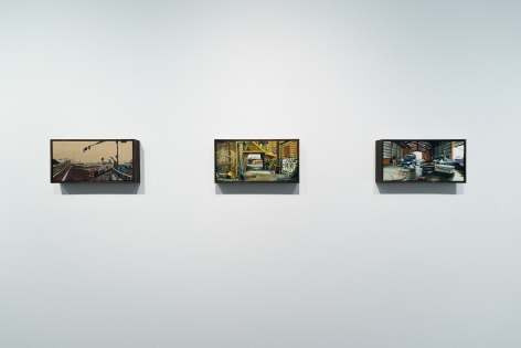 Roll Hardy   New Paintings   March 4–27, 2021   Install view 03