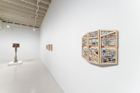 James Allen | You Are Living in a Poem | Russo Lee Gallery | July 1–31, 2021 | Installation view 011
