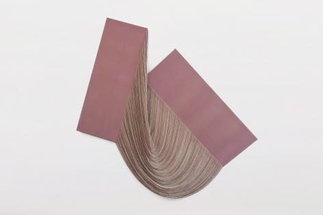 Ko Kirk Yamahira (Born: 1976, Los Angeles, CA)  Untitled RL043 (Pink intersection), 2021