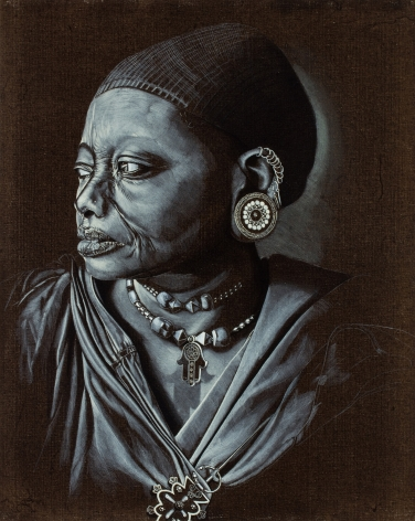 Untitled LR235 (Study from 'Africa Adorned')