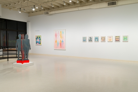Dan Gluibizzi | A coupled search | September 2019 | Russo Lee Gallery | Installation view 07