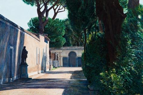 Tom Fawkes (b. 1941)  Villa Medici - Velasquez Vicolo, 2019
