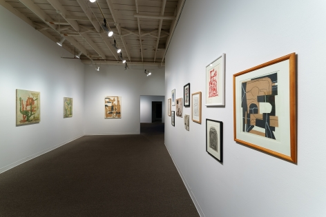 Whiting Tennis | Studio | Russo Lee Gallery | April 2021 | Installation View 010