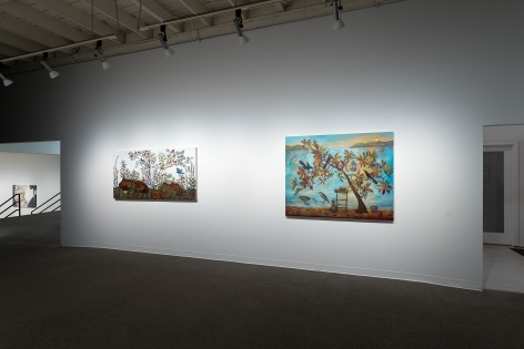 Kim Osgood   Going Into the Forest   Russo Lee Gallery   May 2021   Installation view 04