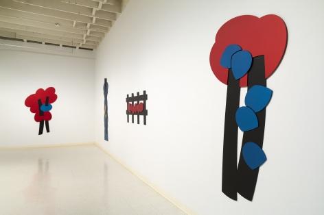 Mel Katz - Wall Sculpture - March 2019 - Installation View 06