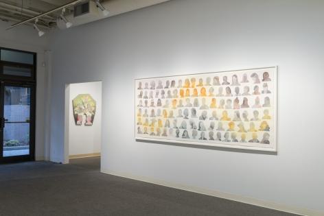 Dan Gliuibizzi | Together we follow | Installation view 3