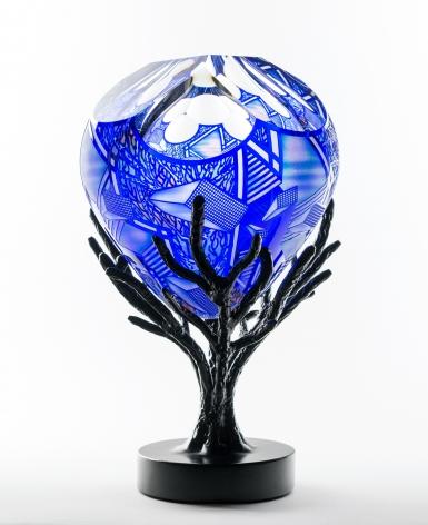 Schwarz - Tree in Blue