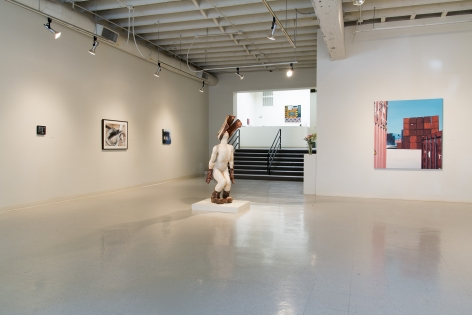 August 2015 Gallery Group Show installation view