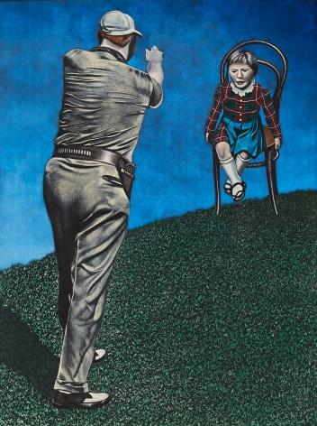 Eric Stotik (b. 1963)  Untitled LR358 (child in chair), 2020