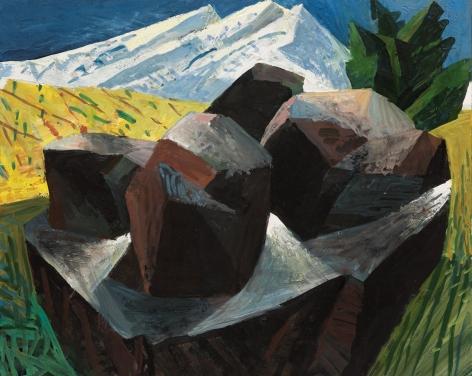 Lucinda Parker - Foreground Boulders