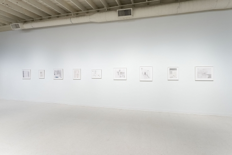 Gina Wilson - teeter taught her - September 2–October 2, 2021 - Russo Lee Gallery - Installation View 08