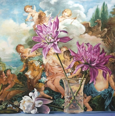 """Sherrie Wolf: """"Counterpoint: New Paintings"""" at Laura Russo Gallery"""
