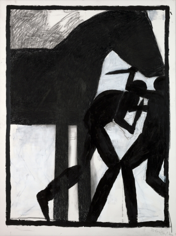 Michael Spafford (b. 1935)  Trojan Horse Series #2 - One Greek One Trojan, 2020