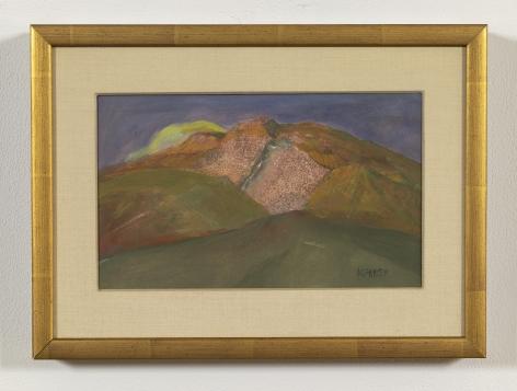 Charles Heaney (1897-1981)  Untitled (gold landscape)