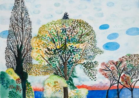 Fay Jones Two Trees 9