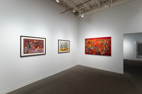 Kim Osgood | Going Into the Forest | Russo Lee Gallery | May 2021 | Installation view 06