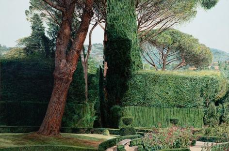 Tom Fawkes (b. 1941)  Villa La Pietra II, 2019