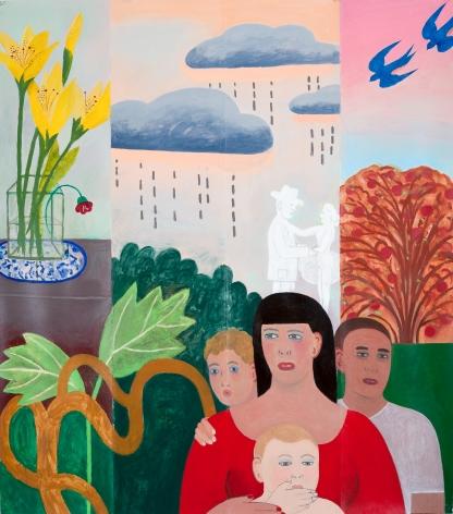 Fay Jones (b. 1936)  Past and Future, Dos a Dos, Repeat, 2020