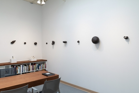 """Maya Vivas - selections from """"i have no choice but to suck the juice out, and who am i to blame"""" - July/August 2019 - Russo Lee Gallery - Installation view 03"""