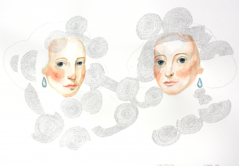 Siems - Sisters Drawing