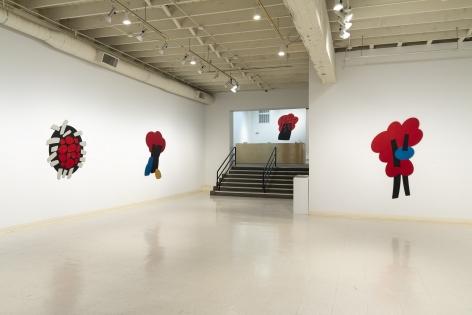 Mel Katz - Wall Sculpture - March 2019 - Installation View 03