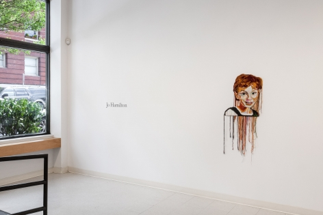Jo Hamilton | The Matriarchs, the Masked, and the Naked Man | May 2019 | Russo Lee Gallery | Installation View 09