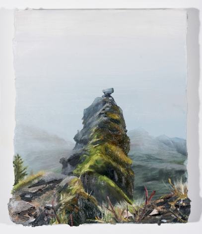 Russell - Thick Mist on Saddle Mountain