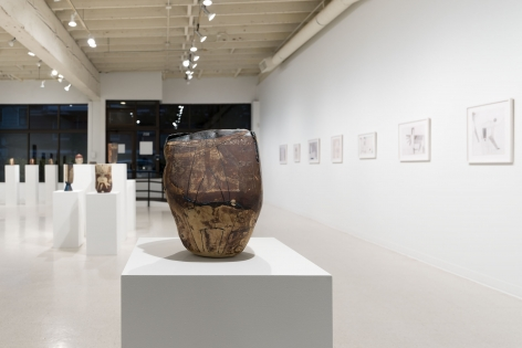 Gina Wilson - teeter taught her - September 2–October 2, 2021 - Russo Lee Gallery - Installation View 012