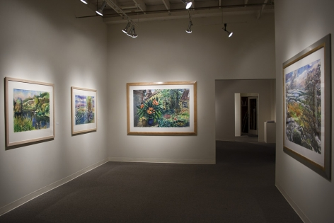Henk Pander watercolors at Laura Russo Gallery February 2012