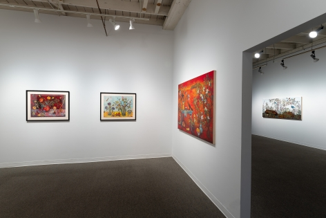 Kim Osgood | Going Into the Forest | Russo Lee Gallery | May 2021 | Installation view 08