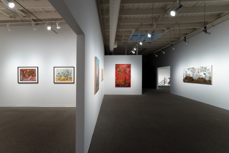 Kim Osgood   Going Into the Forest   Russo Lee Gallery   May 2021   Installation view 05