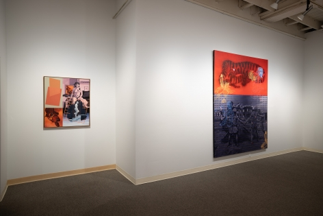 Jay Backstrand | A Survey | Russo Lee Gallery | February 2020 | Installation view 01