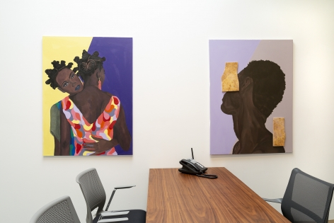 barry johnson - Latitude - Installation View - Russo Lee Gallery - The Office - May/June 2019 - view 05