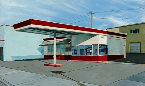 Fernandez - Red and White Gas Station