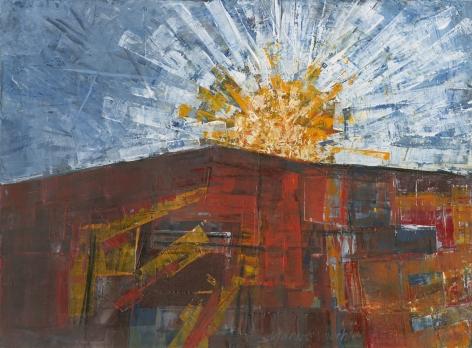 Margot Voorhies Thompson - Desert Sunrise, Borrego Springs