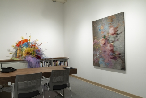 Manu Torres | The Office | Russo Lee Gallery | Installation View 01