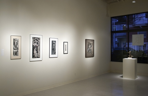 Manuel Izquierdo at Laura Russo Gallery January 2013